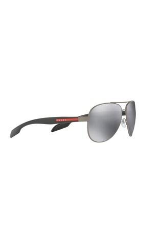 256bf0b70a5 Buy Prada Sport Benbow Gunmetal Grey Sunglasses from Next Gibraltar