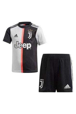 reputable site 5e965 86e73 adidas Black/White Juventus FC Home Mini Kit