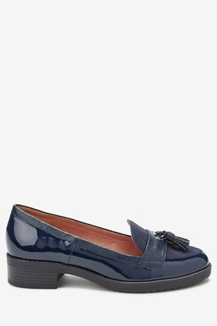 Cleated Tassel Loafers from the Next UK