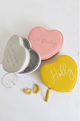 Buy Personalised Heart Jewellery Box By Lisa Angel From Next Ireland