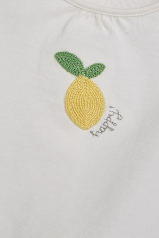 3f2b1350c6b Buy Lemon T-Shirt, Leggings And Headband Set (0mths-2yrs) from the ...