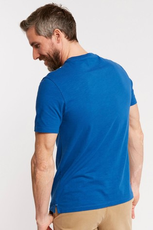 a0e469f26a47 Buy FatFace Blue Swell Day Graphic Tee from the Next UK online shop