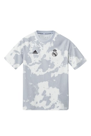 sports shoes 3d239 c3db1 adidas Gold Real Madrid Pre T-Shirt