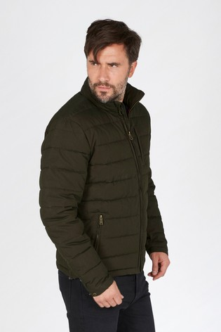 b7d0c5582 Buy FatFace Green Ripstop Padded Jacket from Next Ireland