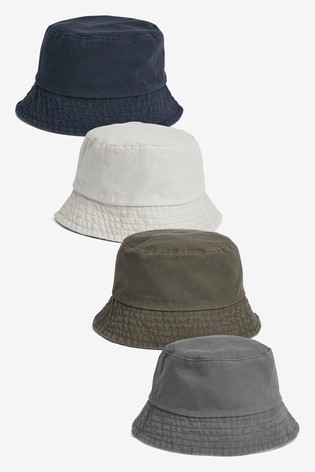 Buy Bucket Hats Two Pack from the Next UK online shop 7cbdbc32531