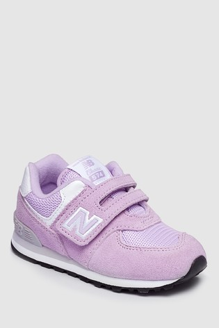 buy popular 7d997 453a8 Buy New Balance Pink 574 Infant Trainer from Next Germany