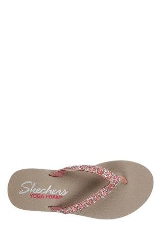 d63f34b085e6 Buy Skechers® Pink Meditation Daisy D Lite Sandal from the Next UK ...