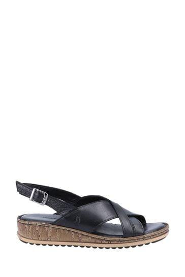 hush puppy wedge sandals