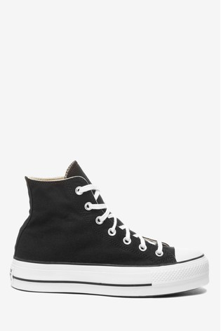 entre tuyo Culpa  Buy Converse Platform Lift Chuck Taylor High Trainers from the Next UK  online shop