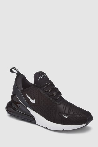 2354385c91 Buy Nike Black/White Air Max 270 from the Next UK online shop