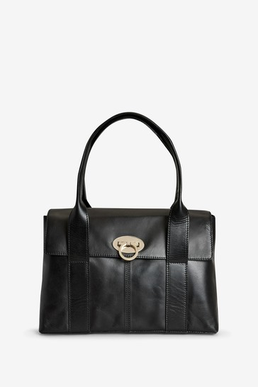 5f380dd1e5df Buy Signature Leather Tote Bag from the Next UK online shop