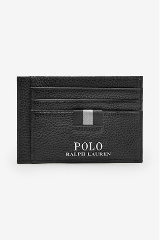 Card Money Polo Lauren Ralph Leather Clip Holder PXiulwkOTZ