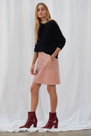 6376017dfb Buy Great Plains Pink Chunky Cord Mini Skirt from Next Bahrain