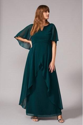 Buy Studio 8 Green Ruby Maxi Dress from