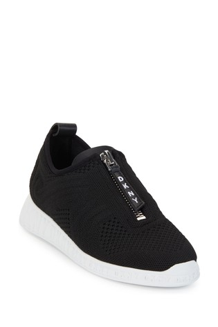 Buy DKNY Black Slip-On Knitted Melissa