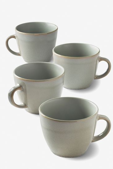 Buy Set Of 4 Logan Reactive Mugs From The Next Uk Online Shop