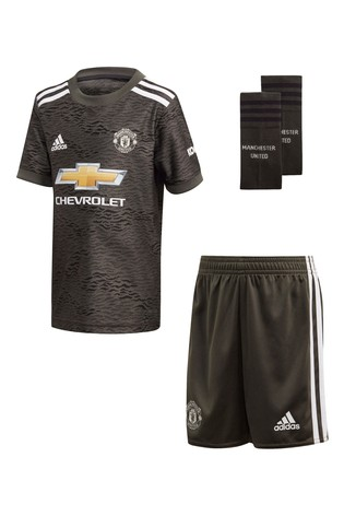 Buy Adidas Manchester United Away 20 21 Mini Kit From The Next Uk Online Shop