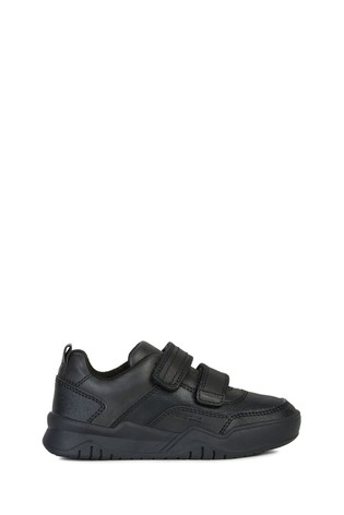 reliable quality new collection great look Geox Boy's Perth Black Shoes