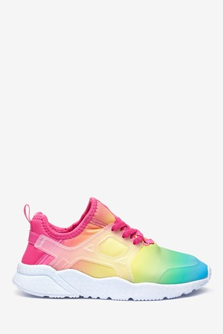 Buy Rainbow Ombre Trainers (Older) from