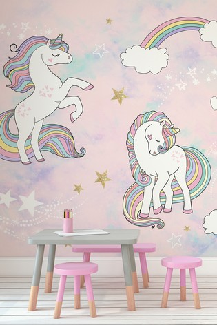 Buy Unicorn Mural By A Street From The Next Uk Online Shop