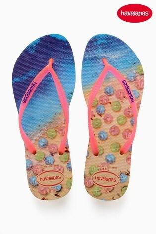 babc8b1f0a45 Buy Havaianas® Beach Print Flip Flop from Next Netherlands