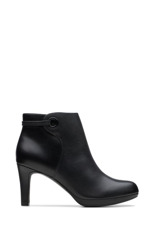 Buy Clarks Black Adriel Mae Boots from