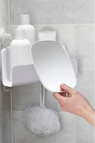 Buy Joseph Joseph EasyStore Corner Mirrored Shower Caddy from the Next UK  online shop