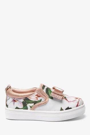 Baker By Ted Baker Opal Floral Slip-Ons