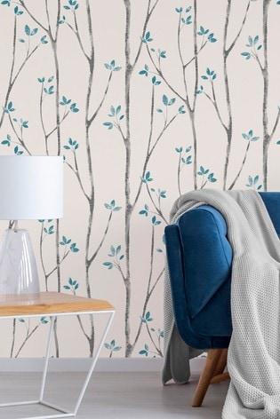 Buy Urban Walls Scandi Tree Wallpaper From The Next Uk Online Shop