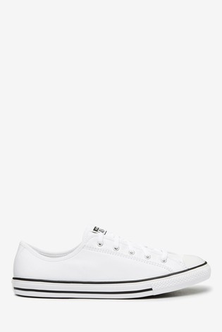 Buy Converse Dainty Leather Trainers