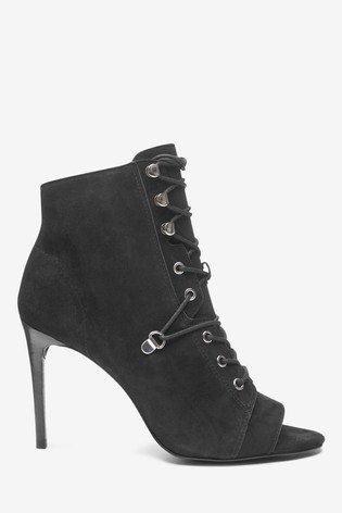 next peep toe boots