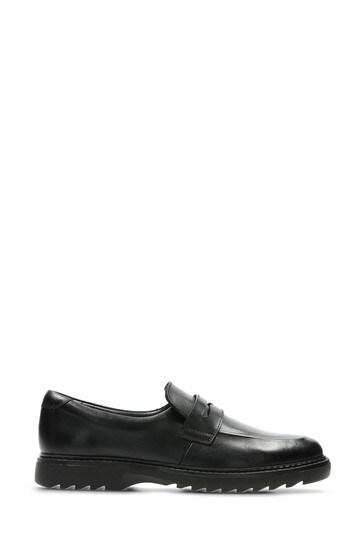 4b6148f599 Clarks Black Asher Stride Shoes