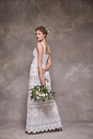 Buy Crochet Lace Bridal Dress From The Next Uk Online Shop