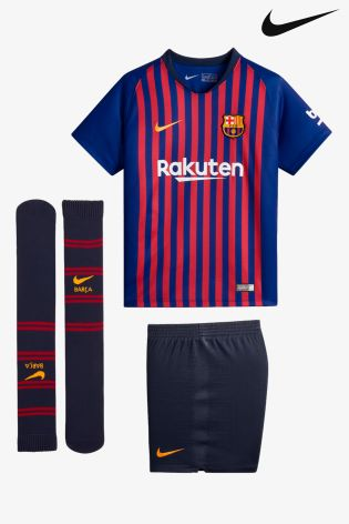 2cbee24a Buy Nike FC Barcelona 2018/19 Kids Stadium Football Mini-Kit from ...
