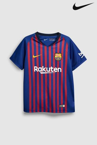 aac8ac91439 Buy Nike FC Barcelona 2018/19 Kids Stadium Football Mini-Kit from ...
