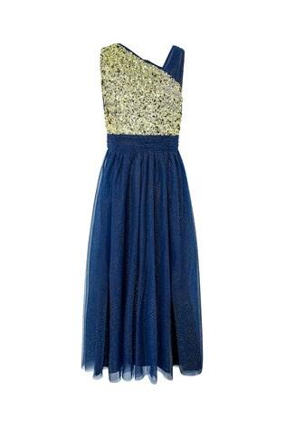 outlet store sale cozy fresh innovative design Monsoon Blue Nadia Prom Dress