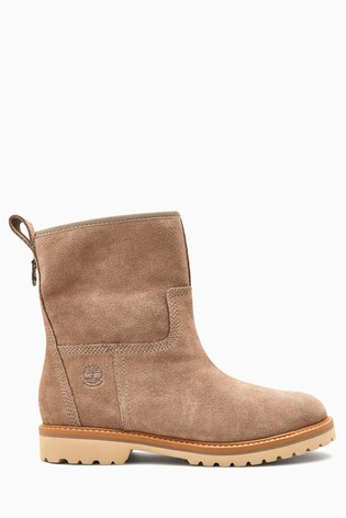 suede bottes timberland