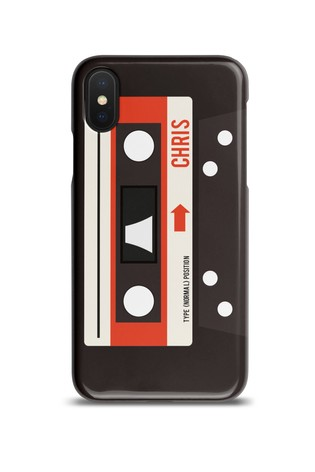 new concept 86973 d20ec Personalised Cassette Phone Case by Loveabode