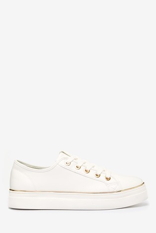 Buy Superdry White Trainers from the