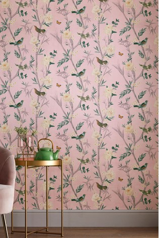 Buy Paste The Wall Oriental Garden Wallpaper From The Next Uk Online Shop