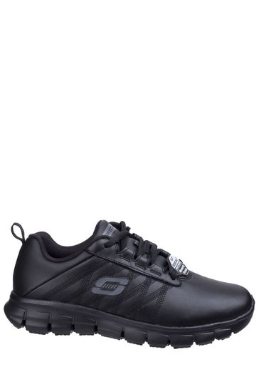 replicas top-rated professional various kinds of Skechers® Black Sure Track Shoes