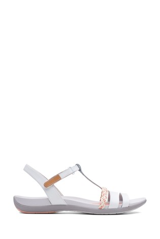 Buy Clarks White Leather Tealite Grace
