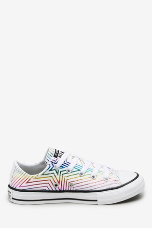 Converse Star Chevron Low Youth Trainers