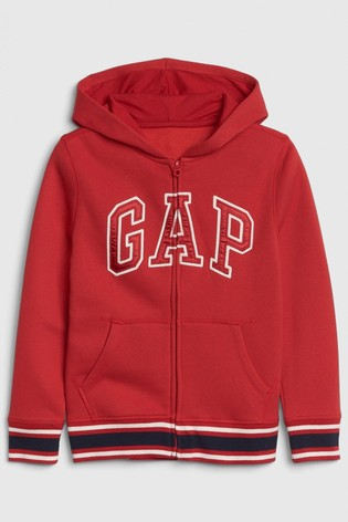 Gap Boys Taped Zip Through Hoody