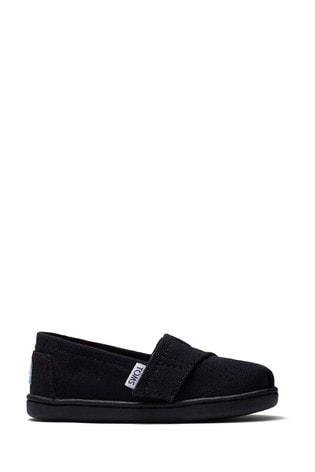 Buy TOMS Tiny Alpargata Velcro Shoes