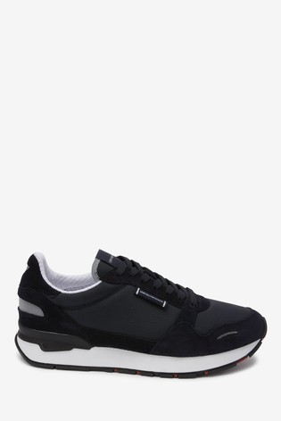 Buy Emporio Armani Black Trainers from