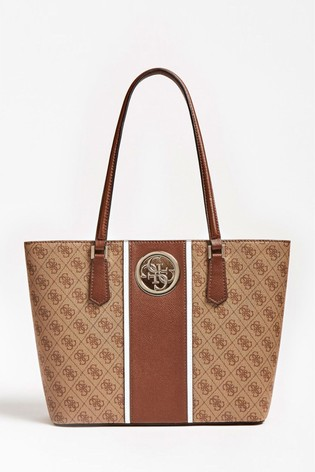 Buy Guess Brown Open Road Tote Bag From The Next Uk Online Shop