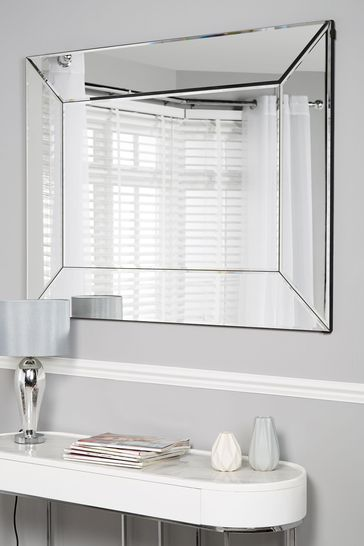Bevel Mirror From The Next Uk, How To Hang A Large Beveled Mirror