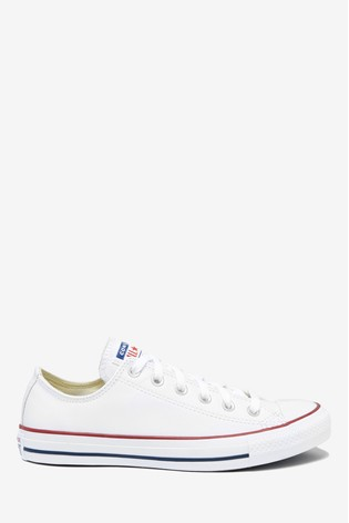 Buy Converse Leather Ox Trainers from