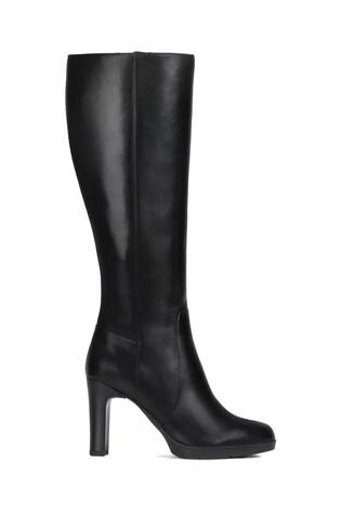 sélection premium 89709 bd312 Geox Women's Annya Black Boot